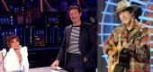 Guest judge Paula Abdul, host Ryan Seacrest, and top 16 contestant Wyatt Pike on 'American Idol' (Photos: ABC)