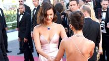 Bella Hadid Has Wardrobe Malfunction, Hangs With Emily Ratajkowski at the Cannes Film Festival