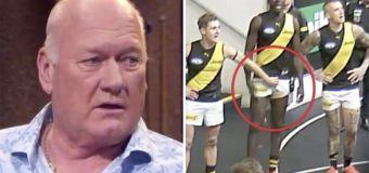 'Never seen that': AFL great slams groping antics