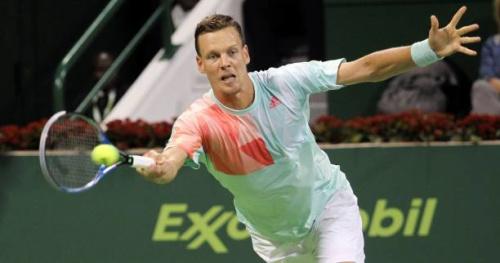 Tennis - ATP - Miami - Tomas Berdych qualifié en huitièmes de finale à Miami
