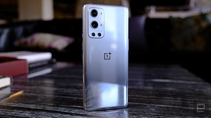 OnePlus 9 Pro rear and Hasselblad cameras