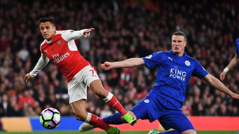 Anspielung auf Twitter: Huth veräppelt Arsenals Alexis Sanchez