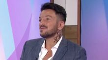 Peter Andre explains reason behind fake neck tattoo after fans fear it's real