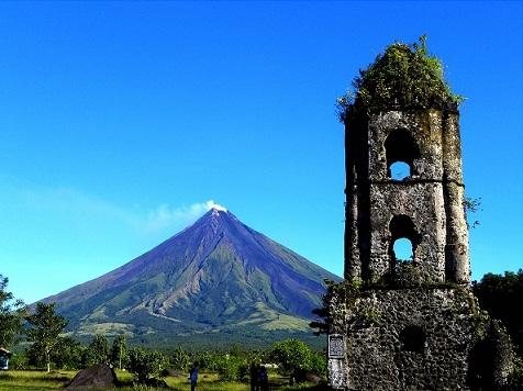 Faith Love Time And Mayon Volcano