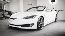 Ares Design turns the Tesla Model S into a two-door convertible