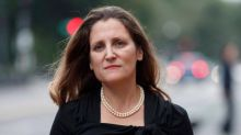 'They're wrong': Freeland rejects claim USMCA ties Canada's hands on trade