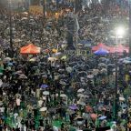 Largest pro-democracy protest yet in Hong Kong fills major park, spills into streets