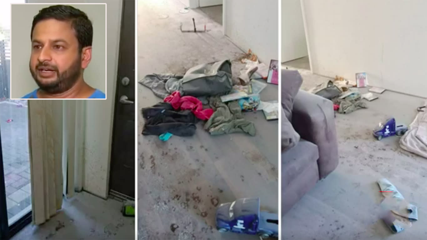 Family repays Good Samaritan's act of kindness by trashing his house