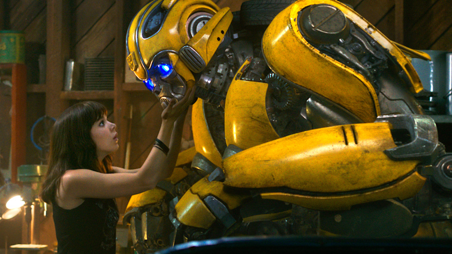 Steven Spielberg came up with the idea for 'Bumblebee'