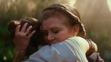 La hija de Carrie Fisher interpretó a la Princesa Leia en 'Star Wars: el ascenso de Skywalker'