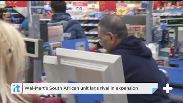 Wal-Mart's South African Unit Lags Rival In Expansion