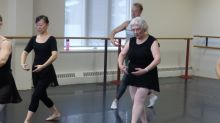 No hay edad para la danza... Fay tiene 79 años y cumplió su sueño de la infancia