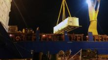 Zion Oil & Gas Drilling Rig Loaded on Ship and En Route to Israel