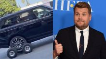 Busted? Video Of James Corden's Carpool Karaoke Has Fans Questioning Everything