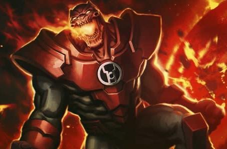 Infinite Crisis shows off Atrocitus