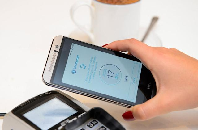 Barclaycard to launch NFC payments on Android ahead of Apple Pay