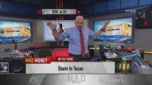 Cramer's lightning round: Take advantage of BlackRock's rare stock dip