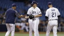 Rays' decision to utilize a four-man rotation could lead to disaster