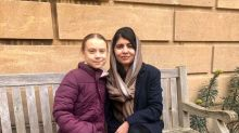 Greta Thunberg Finally Met Role Model Malala Yousafzai, And They Took The Sweetest Pic