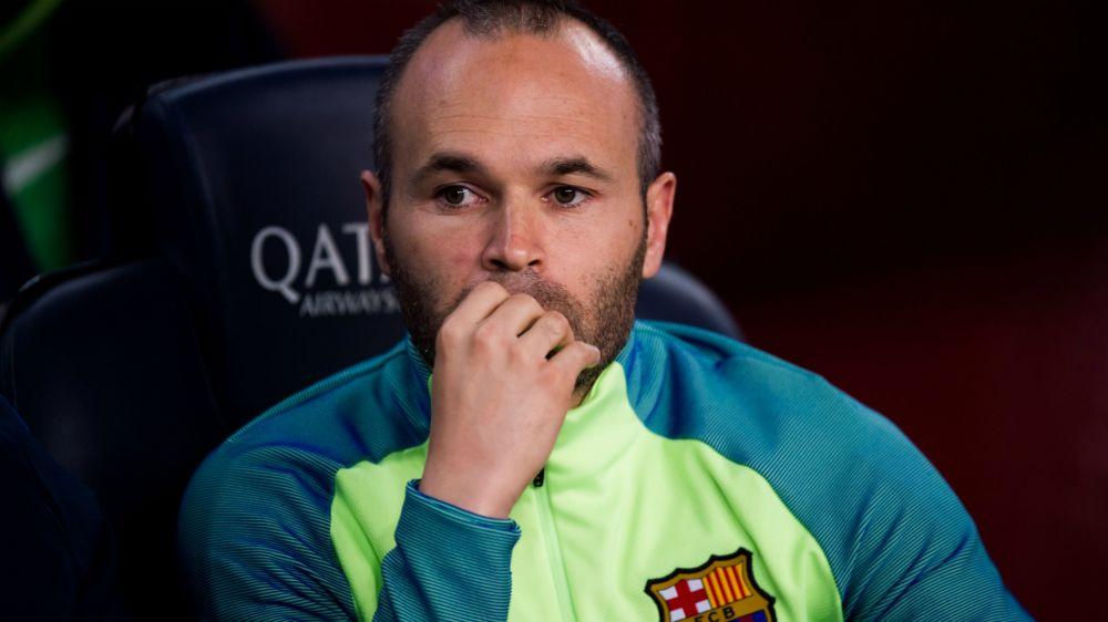 Barcelona: Iniesta fällt für das Stadtderby gegen Espanyol aus
