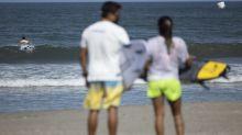El momento del surf olímpico está aquí; ¿cooperarán las olas?