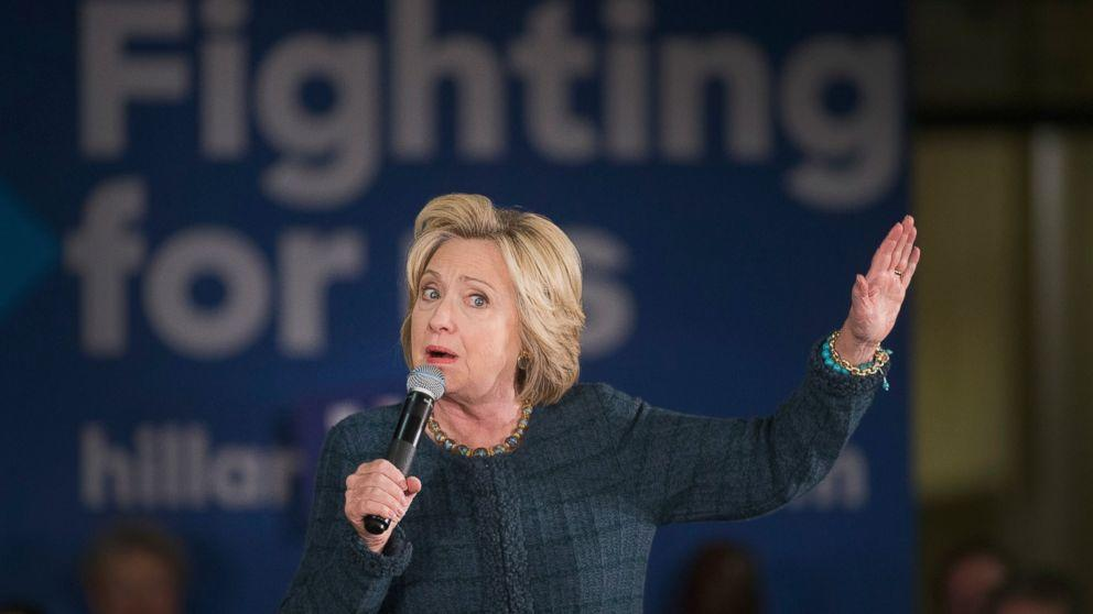 Hillary Clinton Says Trump's Attacks Against Bill Clinton's Past 'Won't Work'