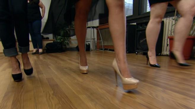 Learning How To Walk In High Heel Shoes