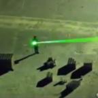 Pilot temporarily blinded after man points laser at his eyes during plane landing