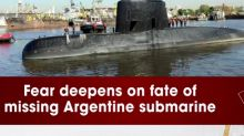 Fear deepens on fate of missing Argentine submarine
