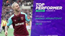 Gameweek 32's top fantasy football performers