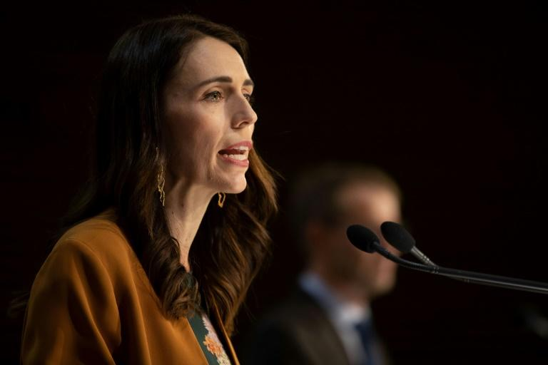 Prime Minister Jacinda Ardern's party maintains a healthy lead in opinion polls ahead of New Zealand's election in September (AFP Photo/Marty MELVILLE)