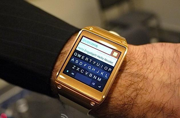 Fleksy keyboard brings predictive touch typing to the Galaxy Gear (video)