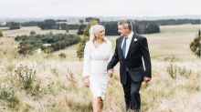 Samantha Armytage shares first photo from intimate wedding