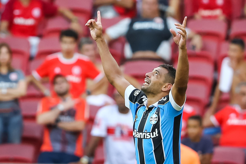 Diego Souza marca e Grêmio bate o Inter na semi do 1º ...