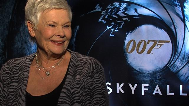 Judi Dench on