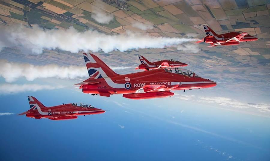Top Boston news: Royal Air Force aerobatic team to perform