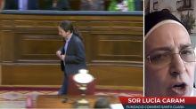 "Sor Lucía Caram: ""Pablo Iglesias ha terminado siendo una estafa"""