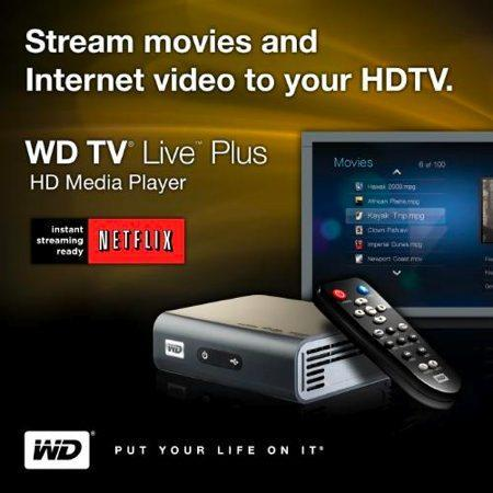 Western Digital announces WD TV Live Plus HD with Netflix streaming