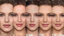 Study shows how similar the faces of brand models are