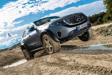電動豪華越野新體驗!Mercedes-Benz推出EQC 4x4²