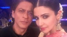 Shah Rukh Khan is in awe of Anushka's beauty in his latest Instagram post