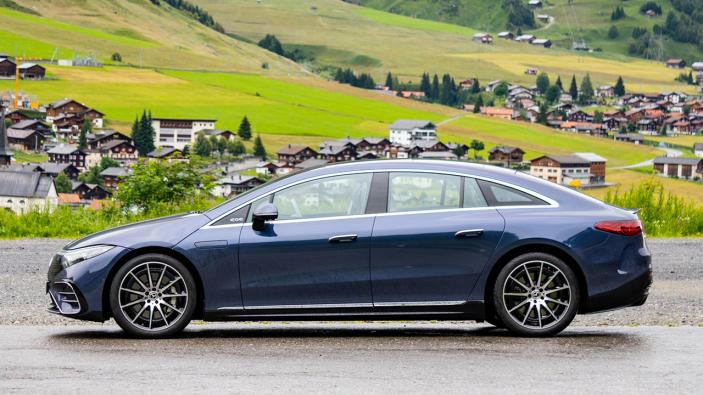 Mercedes EQS first drive: S-Class luxury in an EV