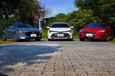 快與帥的邊緣,Corolla Sport、Mazda3、Focus的掀背車無限之戰