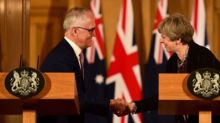 Australian PM wants 'speedy' free trade deal with UK post-Brexit
