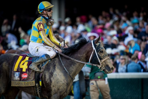 Classic Empire got roughed up in his trip at the Kentucky Derby. (Getty Images)