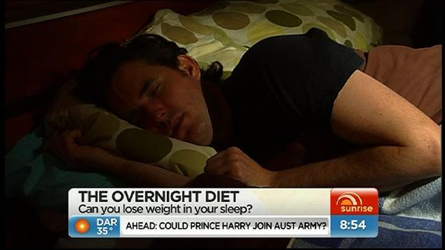 Lose weight while you sleep?