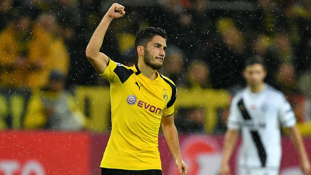 Sahin signs Dortmund contract extension