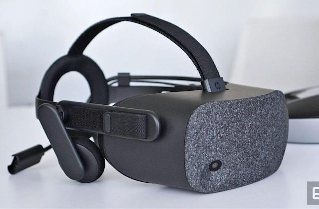 HP's 'Reverb' is the sharpest Windows VR headset yet