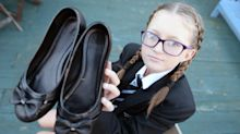 Father claims school is unfairly punishing daughter, 12, for bow on shoes