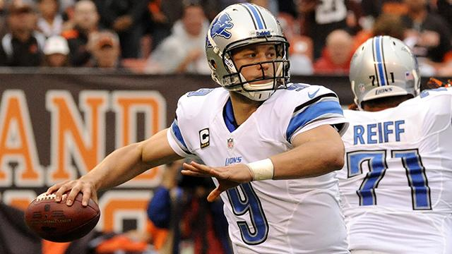 Stafford to shine versus Cowboys